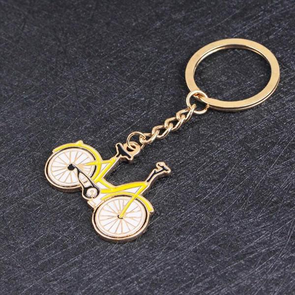 Legal moda chaveiro da bicicleta da bicicleta pingentes diy homens jóias titular do anel chave do carro de jóias lembrança para presente