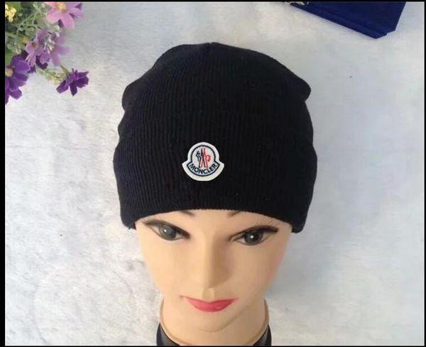 2019 gorro de inverno das mulheres dos homens chapéu ocasional bonés de malha chapéus homens esportes cap preto cinza branco amarelo hight qualidade tampas do crânio