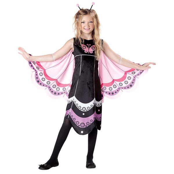 suche nach original Discounter Offizieller Lieferant Großhandel Halloween Kostüm Für Kinder Rosa Schmetterling Fee Kostüme  Mädchen Wald Waldgrün Elf Fee Kostüm Cosplay Kleid DN2419 Von Bigseaa,  $42.7 Auf ...