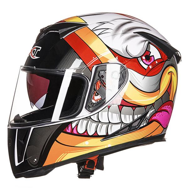 Motorcycle Helmet GXT-358 Full Face atv off road racing helmets cross bike motorcycle helmet for Women & Men Casque De Moto