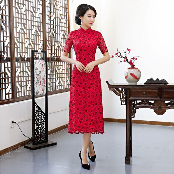 Großhandel Shanghai Story 2019 Vietnamesisch Ao Dai Traditionelle