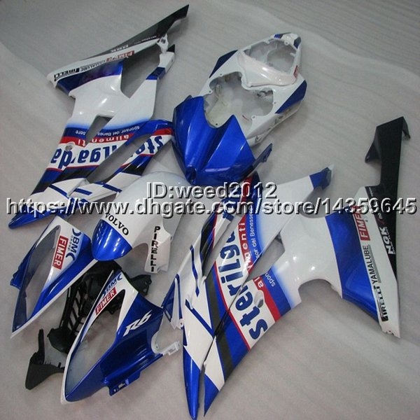 23colors+5Gifts Full fairing kits for Yamaha YZFR6 2008 2009 2010 2011 2012 2013 2014 2015 2016 YZF R6 manufacturer customize Bodywork Set