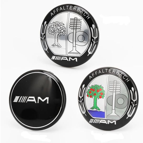 3D Sticker AMG emblema para Mercedes BZ Start Stop Engine Botón decorativo 39mm Diámetro interior Ignition Emblem
