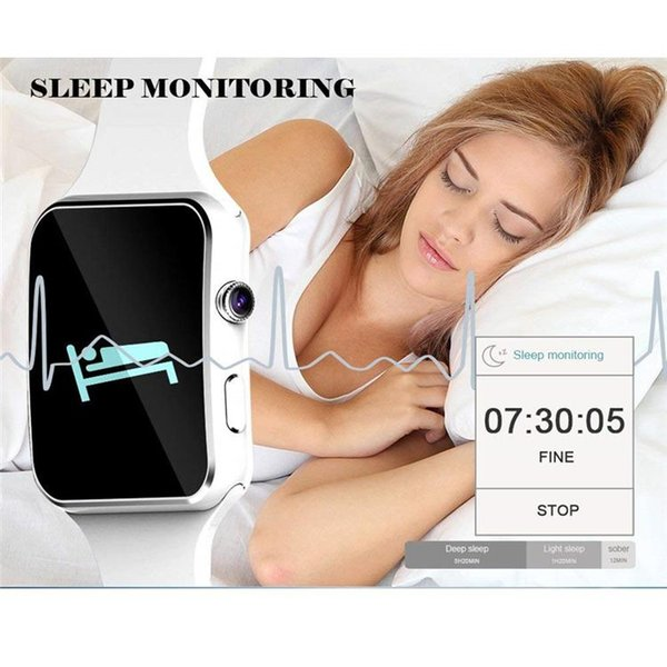 X6 Smart Watches With Camera Touch Screen Support SIM TF Card Bluetooth Smartwatch For Iphone X Samsung s9 Android Phone with Retail Box DHL