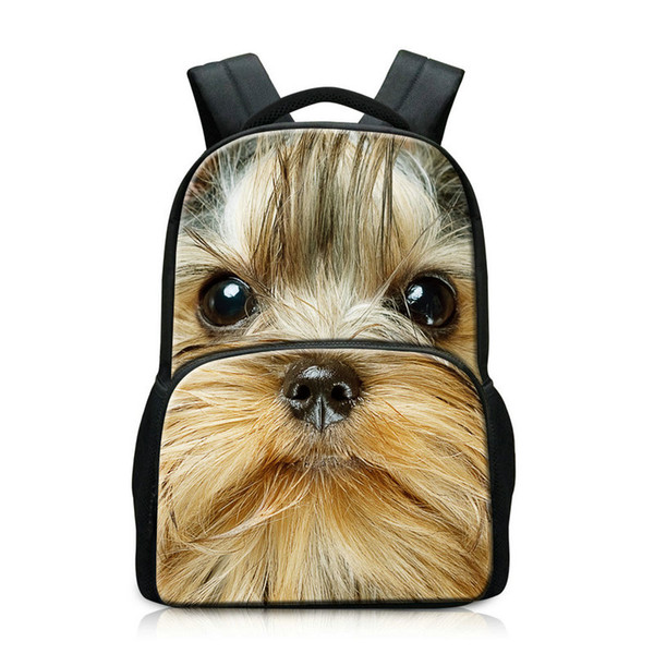 Animal Pattern College Laptop Backpacks School Bags For Teenagers Fashion Day Pack for Men Mochilas With Computer Compartment Pocket