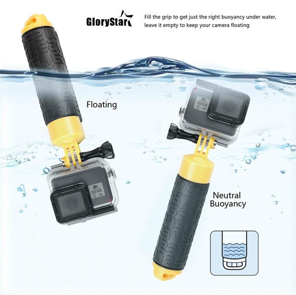 //3//2//1 Cámara Varilla de flotabilidad flotante mano agarre Manija Soporte para GoPro Hero 4//3