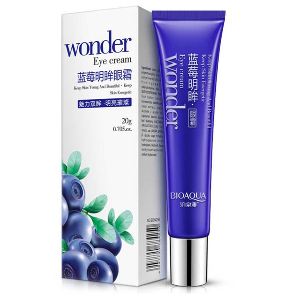 top popular Drop Ship DHL 20g Eye Cream Skin Care Blueberries Moisturizing Hydrating Whitening Anti Wrinkle Remove Dark Circles Eye Creams BIOAQUA 2021