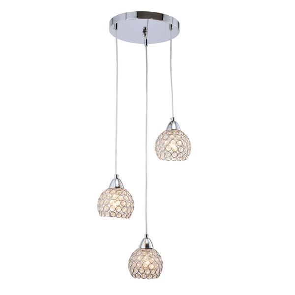 Moderno cristallo sala da pranzo luci a sospensione a soffitto Coppe di vetro Cassa di scale Lampada a sospensione Bar Counter Hanging sospensione Apparecchi di illuminazione