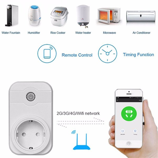 Smart Universal Air Conditioner A//C Remote Control LED 2G//3G//4G WiFi US//EU PLUG