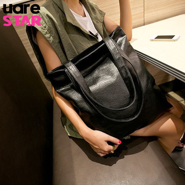 Women Shoulder Bags Large Capacity Handbags Soft Pu Leather Big Bag For Women Fashion Design Handbag Female Bolsas