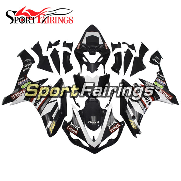 Full Fairing Kit For Yamaha YZF1000 R1 Year 2007 - 2008 07 08 ABS Plastics Injection Motorcycle Body Kit Black With Decals Free Gifts New