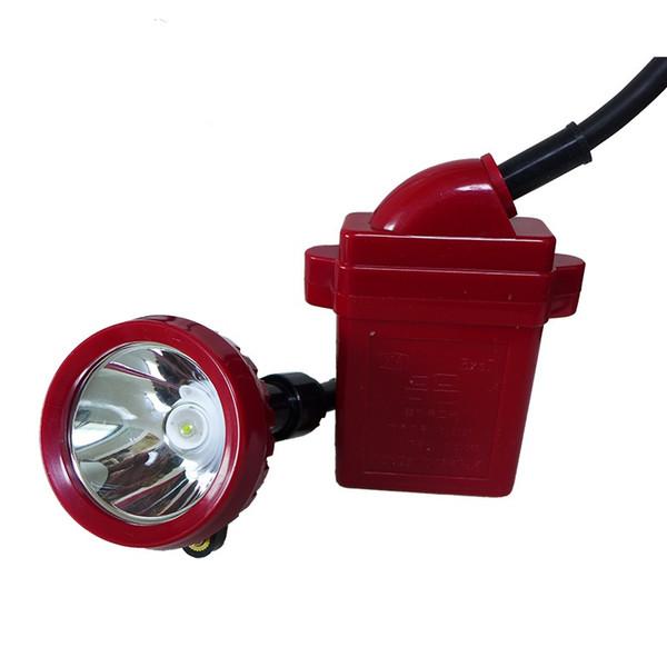Lâmpada de tampão 25000lux do farol 2500lux do mineiro da lâmpada de mineração KL5LM do brilho alto