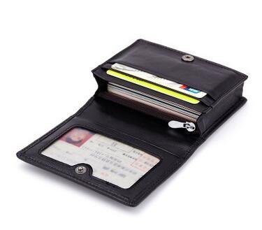 wholesale Woven bag hand-woven lambskin wallet bank card Holder Capacity Business ID Holders Organizer Free Shipping