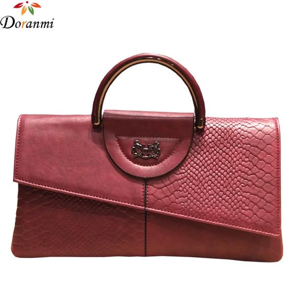 DORANMI Klassische Tag Kupplung Taschen Für Frauen 2018 Luxus Marke Designer Top-griff Taschen Weibliche Dünne Umschlag Kupplung NPJ108