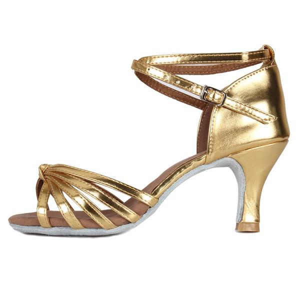 Calcanhar Dourado de 7cm