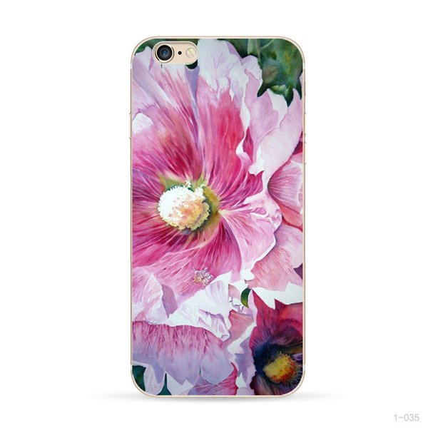 Flower Shockproof Case For Iphone 7 8 New Beautiful TPU Phone Case Cheap Fashion Fast Delivery