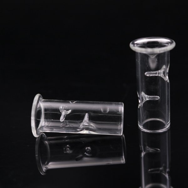 best selling Big Glass Filter Tip for Dry Herb Tobacco RAW Rolling Papers With Tobacco Cigarette Holder Thick Pyrex Smoking Glass Pipes Tips