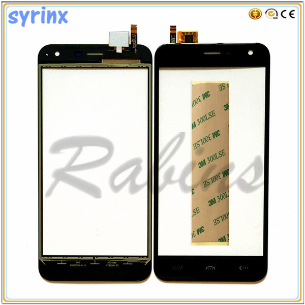 5.0 inch For Homtom HT3 Touch Screen Digitizer Sensor For Homtom HT3 Pro Front Glass Touch Panel Sensor Touchscreen 3m Stickers
