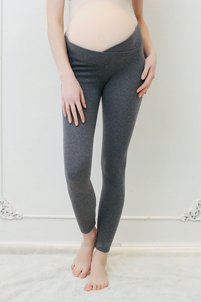 Spring Autumn Maternity Leggings Low Waist Pregnancy Belly Pants For Pregnant women Maternity Thin Trousers Clothes Leggings