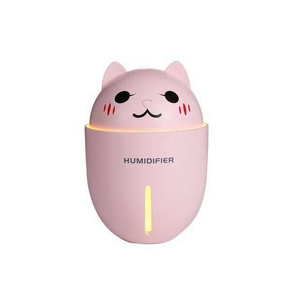 Adorable Pet Humidifier Three-in-one Mini- Portable Mute Bedroom Desktop Small-sized Vehicle USB Humidifier Multi-function desktop humidifie