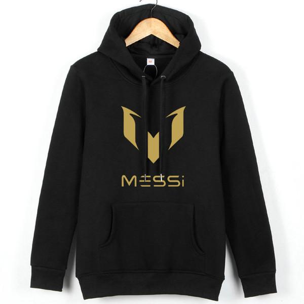 Lionel Messi hoodies Best football play sweat shirts Soccer star fleece clothing Pullover sweatshirts Sport coat Outdoor jackets