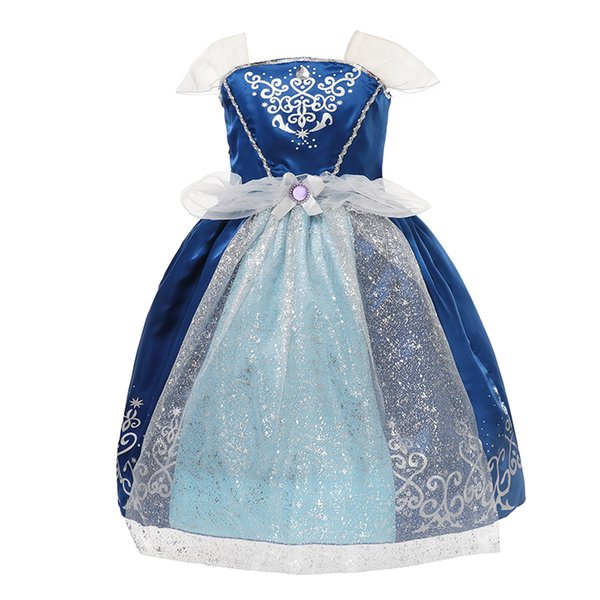 9 Styles NEW dress Hot Selling Summer Princess Fairy Dresses Kids Sleeveless children's wear Girl Princess Dresses