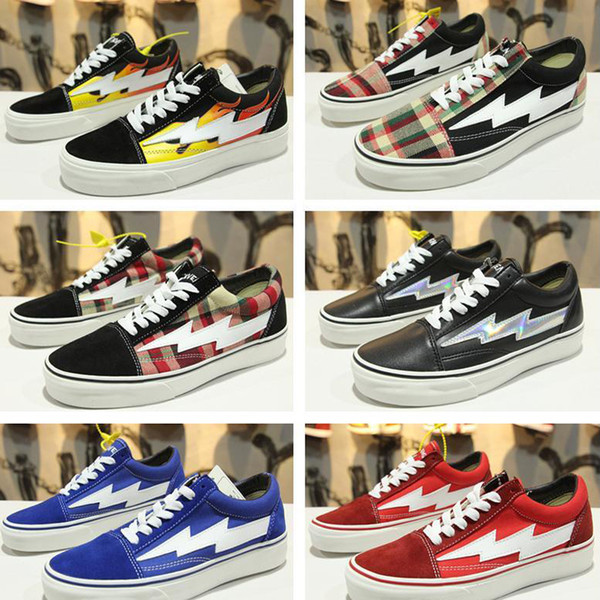 2018 Fashion New Revenge X Storm Old Skool Men Women Canvas Skate Board  Shoes Low Cut Skateboard Top Quatily Casual Shoe Sports Sneakers Running  Shoes