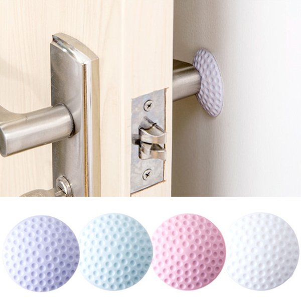 Home Decoration Posters Wall Stickers Silent Door Rear Stickers Rubber Protection Cushion Wall Anti Collision Mat Doorknob Crash Pads rear