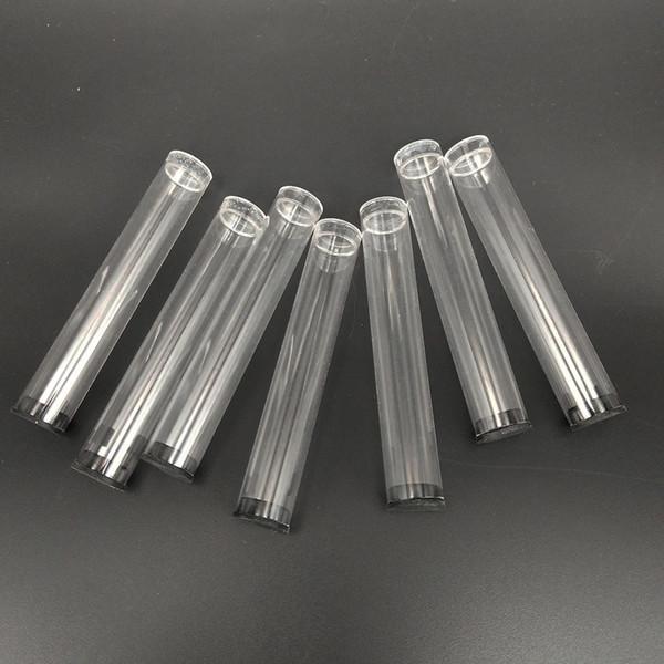 Atomizadores 510 Ego que empaquetan los cartuchos de los tubos de plástico transparente que empaquetan con los casquillos negros para 92A3 los nudillos de cobre amarillo Atomizadores de Kingpen