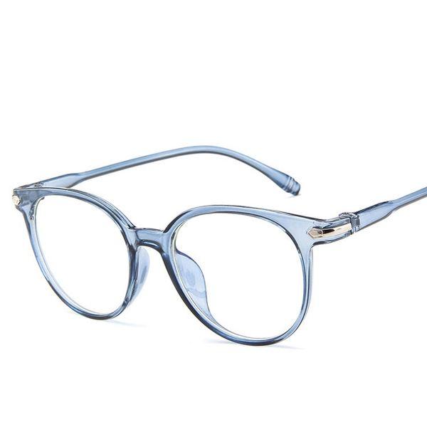 Mode Frauen Runde Klare Gläser Rahmen Männer Brillen Rahmen Vintage Objektiv Brille Optisches Spektakel