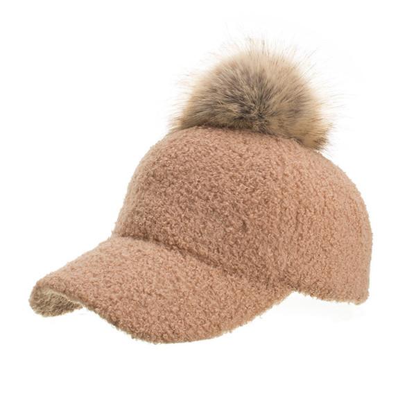 Kış kadın Kapaklar Yün Beyzbol Şapkası Siyah Taktik Şapka Gölge Şapkalar Kış Rahat Kemik Gorras Para Hombre Toptan 40OR15