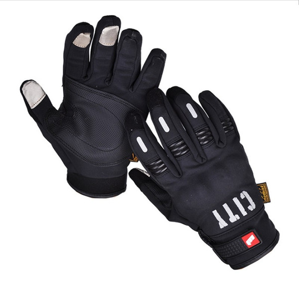 NEW arrived high quality Motorcycle Full Finger Glove ATV Armor Gloves Racing Guante Wholesale