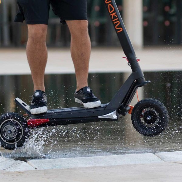 INOKIM OX Super / Hero Series Scooter eléctrico plegable de dos ruedas de alta calidad Potente hoverboard dockless eléctrico