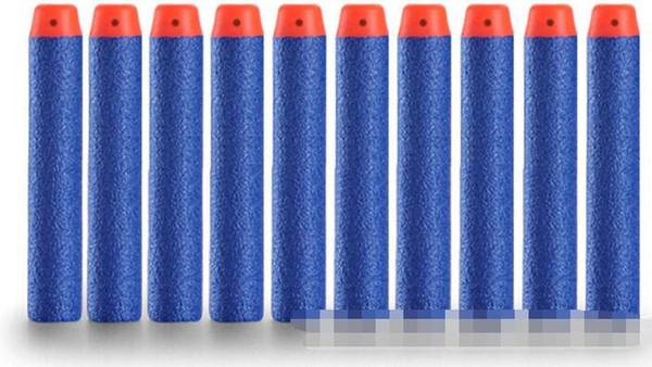 7.2cm NERF N-Strike Elite Series Refill Soft Foam Bullet Darts Gun Toy Bullet 8colors can choose For Children Christmas Gift