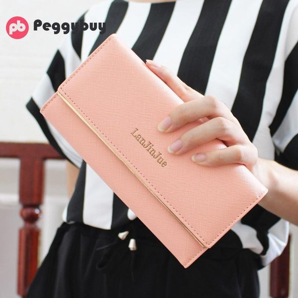 Elegant Women Purse and Wallet Leather Lady Purse Card Holder Women Clutch Handbag Modis Bolsos Phone Wallet Clutch Bag