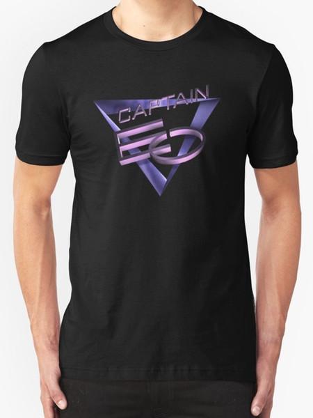 Los hombres de la camiseta de los hombres del capitán EO liberan el regalo ocasional unisex de la camiseta del envío libre