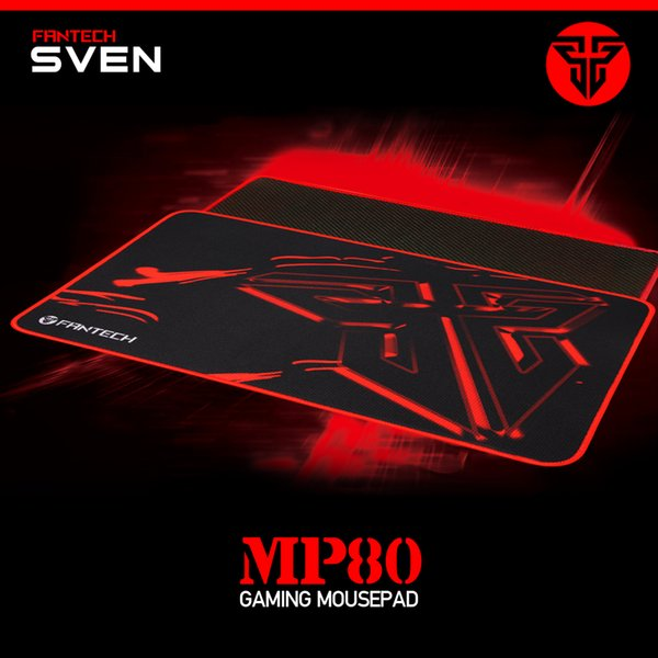 FANTECH MP80 Professional mouse pad rubber material sewn smooth mouse pad with smooth feel for game players and office