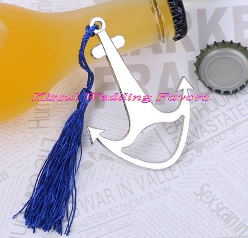 (10 Pieces/lot) Navy wedding souvenirs of Nautical Anchor Bottle Opener Favors for Wedding decorations and Wedding celebration