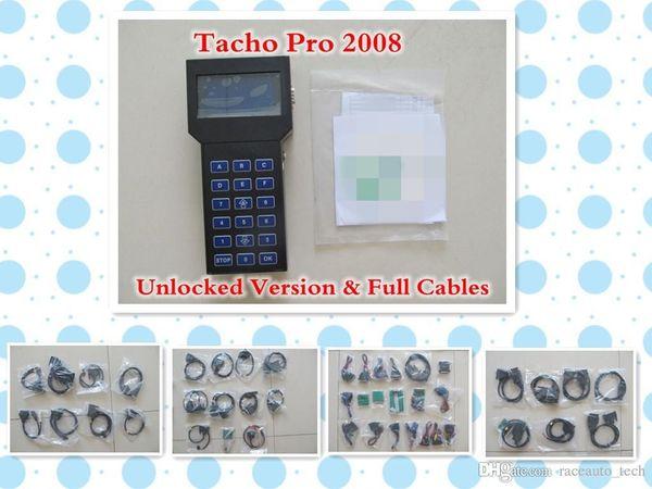 Nuovo strumento Correzione chilometraggio Tacho Pro 2008 Versione sbloccata Strumento correzione contachilometri Universal Dash Programmatore tachopro V2008