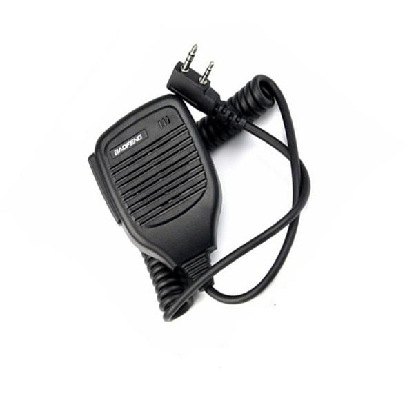 Speaker Baofeng Radio PTT Speaker Mic Handheld Microphone For Kenwood Baofeng UV5R BF-888S UV-82 Portable CB Radio Walkie Talkie