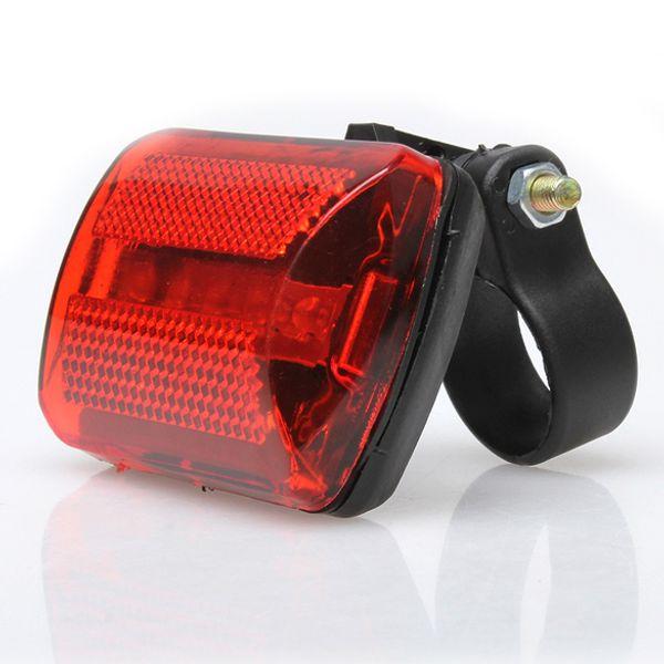5 LED Fahrrad Hinten Schwanz Red Bike Rücklicht Mountain Road Sattelstütze Schwanz Sicherheit Radfahren Warnleuchten (Ohne Batterie)