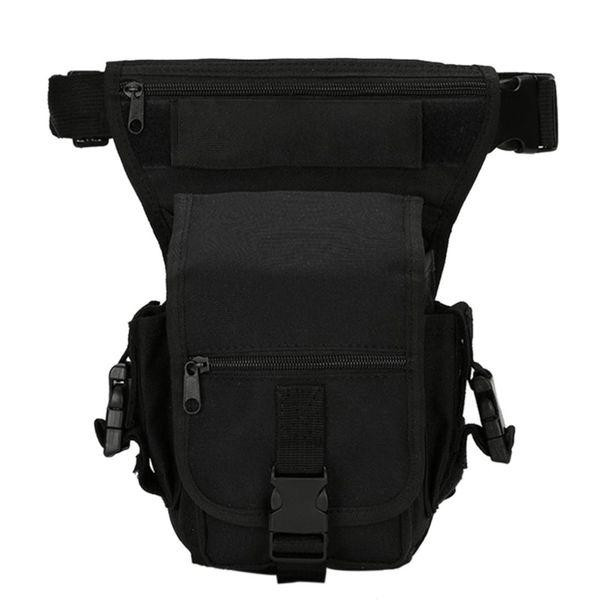 Detachable Tactical Drop Leg Waist Bag Riding Bag for Motorcycle Outdoor Bike Cycling Thigh Pack Waist Belt
