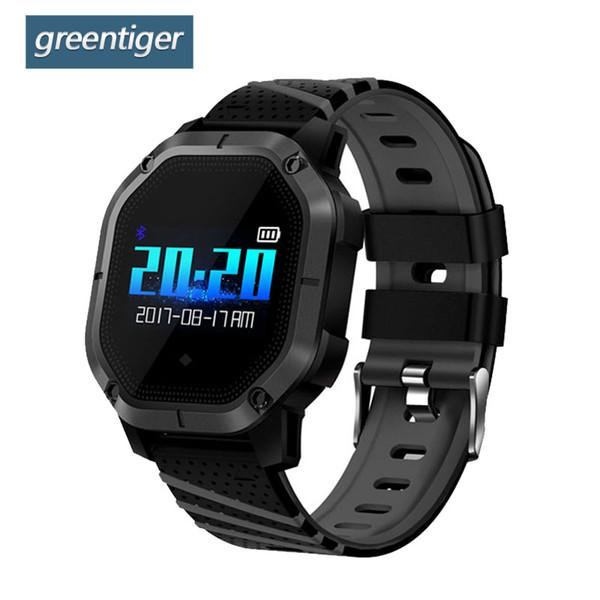 Großhandel K5 Smart Watch IP68 Wasserdichte Blutdruck Bluetooth Farbe Bildschirm Sport Smart Armband Fitness Mann Smartwatch