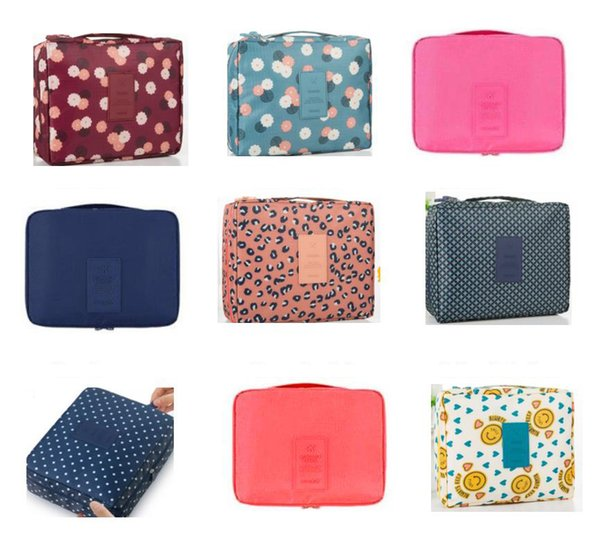 Hot Popular Designer Floral Cosmetic Bag Korea Style Candy Makeup Bags 24 Colors Portable and Durable Wholesale Free Shipping
