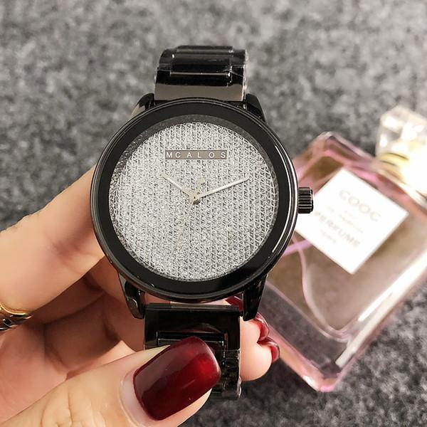 zichen080514 / Fashion M design Brand women's Girl style Metal steel band Quartz Watch M46