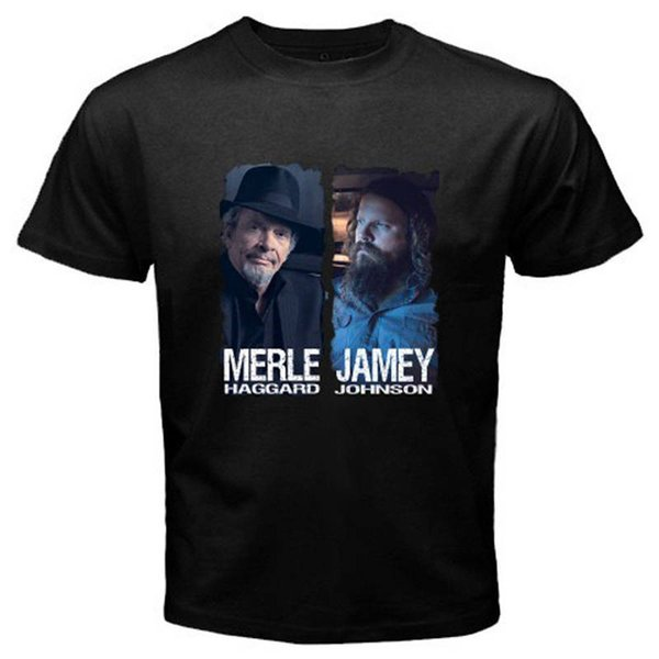Jamey Johnson Men Heavy Cotton Custom T-Shirt Cotton Tee Shirt Size S-4XL
