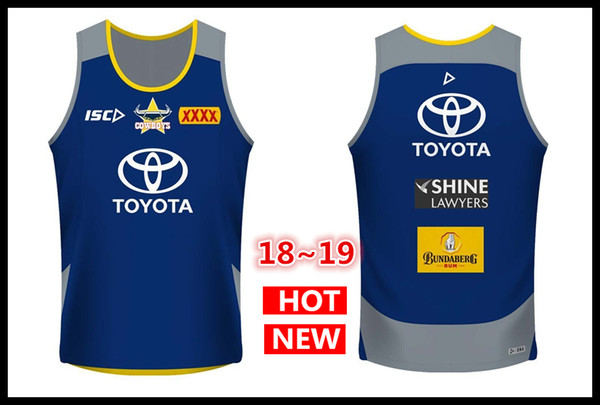 North Queensland Cowboys rugby Jerseys 2018 home Singlet Jersey NRL National Rugby League Singlet nrl Jersey Australia shirt s-3xl