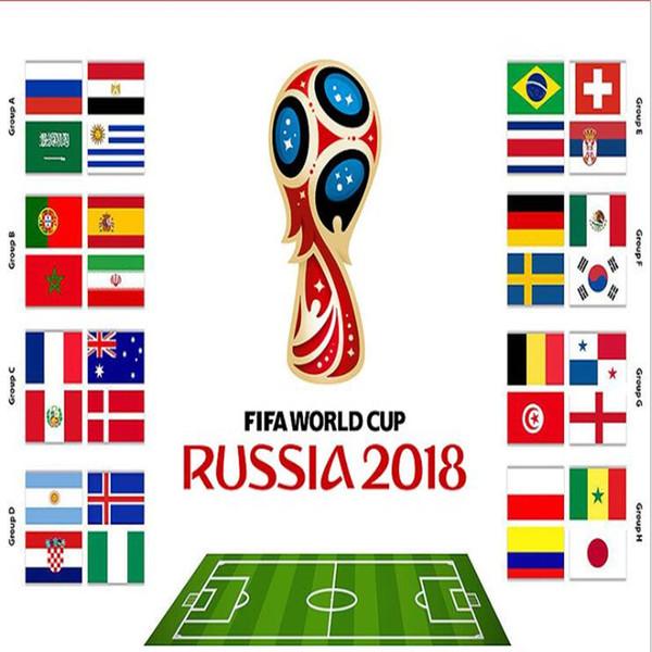 El Bayrakları Hatıra 2018 Futbol Dünya Kupası 32 Ülke Küçük El Sallayarak Ulusal Takım Bayrak 14 * 21 cm Futbol Banner Hayranları Hediye