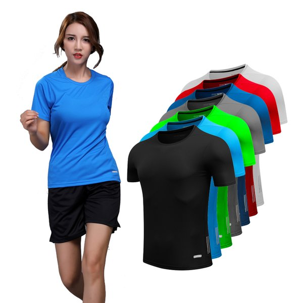 Yoga Running Shirt Women Quick Dry Compression Tights T-Shirt Women Fitness Training Sports Woman Compression Short Sleeves