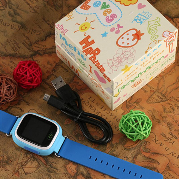 kids GPS tracker Q90 Touch Screen WIFI Smart Watch phone Child SOS Call Location Finder Device Anti Lost Monitor for baby gift